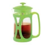 Фото Заварочный чайник з поршнем OPERA цвет зеленый чай 350 мл FP-9034.350