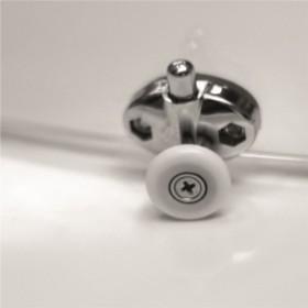 Фото 2 100-06319 Душевая кабина Aquaform AFA 90x90 Grafit, полукруг