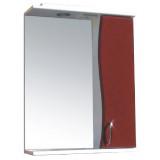 Фото Зеркало со шкафчиком Э-1 50 правый (бордовый)