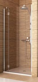 Фото 103-06062 Душевая дверь в нишу Aquaform SOL DE LUXE 80 левая