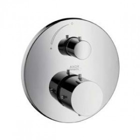 Фото Внешняя часть встр.смесителя для ванны/душа Starck термостат (10700000)