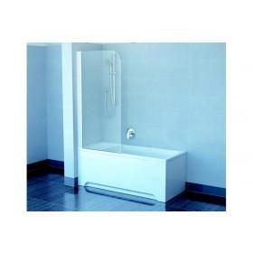 Фото 2 Штора на ванну Ravak EVS1-75 правая. Каркас - белый. Витраж - стекло (Transparent)