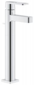 Фото Смеситель для умывальника Grohe Quadra высокий + сливной гарнитур (32633000)