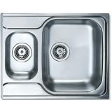 Фото Мойка кухонная TEKA CLASSIC 1 1/2 B 1D 650х500 декор. (10119053)