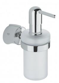 Фото Дозатор для жидкого мыла Grohe Tenso с держателем (40289000)