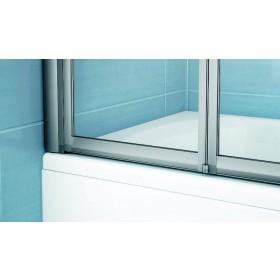 Фото 3 Штора на ванну Ravak VS3 - 130. Каркас - сатин. Витраж - стекло (Transparent)