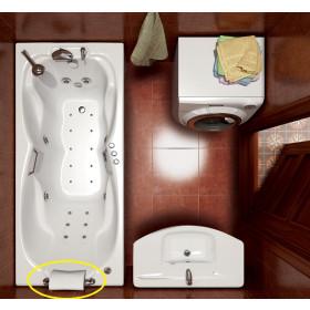 Фото 1 Подголовник на ножках для ванн Triton