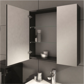 Фото 2 0408-202811 Шкаф-зеркало Aquaform AMSTERDAM 60 Фиолет