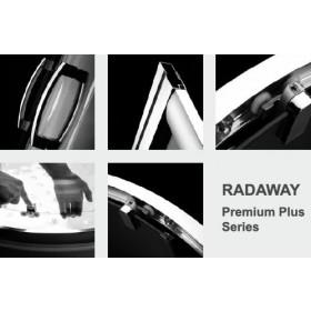 Фото 2 Душевая кабина Radaway Premium Plus А 100x100 Graphite, хром (30423-01-05N)