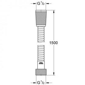 Фото 1 Шланг для душа Grohe Relexaflex 150 см (28151000)