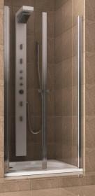 Фото 103-05552 Душевая дверь Aquaform SILVA 80, маятник