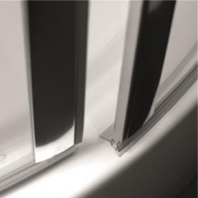 Фото 1 103-06062 Душевая дверь в нишу Aquaform SOL DE LUXE 80 левая