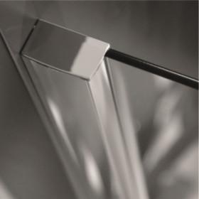 Фото 2 103-013101 Душевая стеклянная стенка Aquaform SOUL Walk-in 100х97-115 с профилем