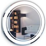 Фото Зеркало Liberta LIMA круг 900х900 с LED-подсветкой