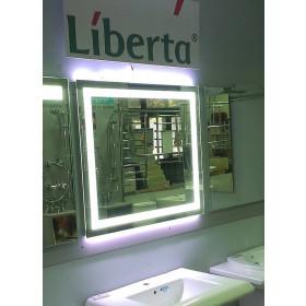 Фото 2 Зеркало Liberta BOCA 1200х800 с LED-подсветкой