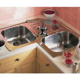 Фото 2 Мойка кухонная TEKA CLASSIC ANGULAR 2B 830х830 полир. (10118005)