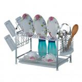 Фото Сушилка для посуды с поддоном Kamille 0910