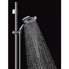 Фото 1 Лейка для душа Grohe Rainshower Icon (2 режима), бел/зел (27276LS0)