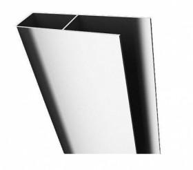 Фото 310-20825 Профиль расширительный Aquaform Glass 5 на 20-40 мм