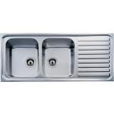 Фото Мойка кухонная TEKA CLASSIC 2B 1D 1160х500 декор. (10119051)