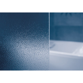 Фото 1 Душевая штора Ravak SRV2 - 90 квадр. Каркас - белый. Витраж - стекло (Grape)