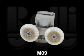 Фото Ролик для душевой кабины двойной М09 (d.23 мм) верхний