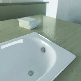 Фото 1 Ванна стальная Smavit 105