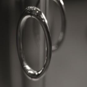 Фото 1 103-091111 Душевая дверь Aquaform NIGRA 80 Transparent