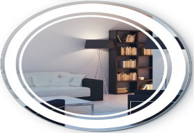 Фото Зеркало Liberta LIMA овал 1000х650 с LED-подсветкой