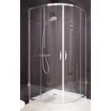 Фото Душевая кабина Koller Pool Waterfall Line YF80 80х80 Transparent, карк. - white