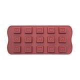 Фото Форма для шоколада силикон Vincent 21х10.8х1.7см VC-1387
